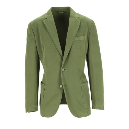 Tessitore Chaqueta Algodón Hombre Verde Talla 52 (Antiguo