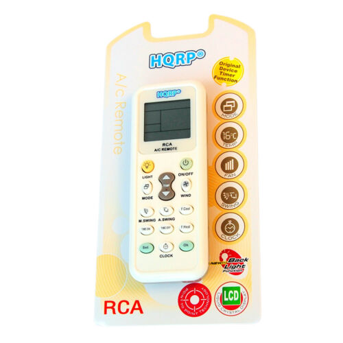 °F for Haier Series Air Conditioner HQRP Replacement Remote Control °C