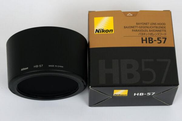 Amical Nikon Pare-soleil Hb57 Pour Zoom Af-s Dx 55-300 Vr