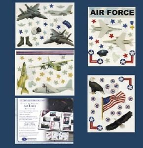 Details about Creative Memories Stars & Stripes - Stars & Stripes - AIR  FORCE Sticker Pack