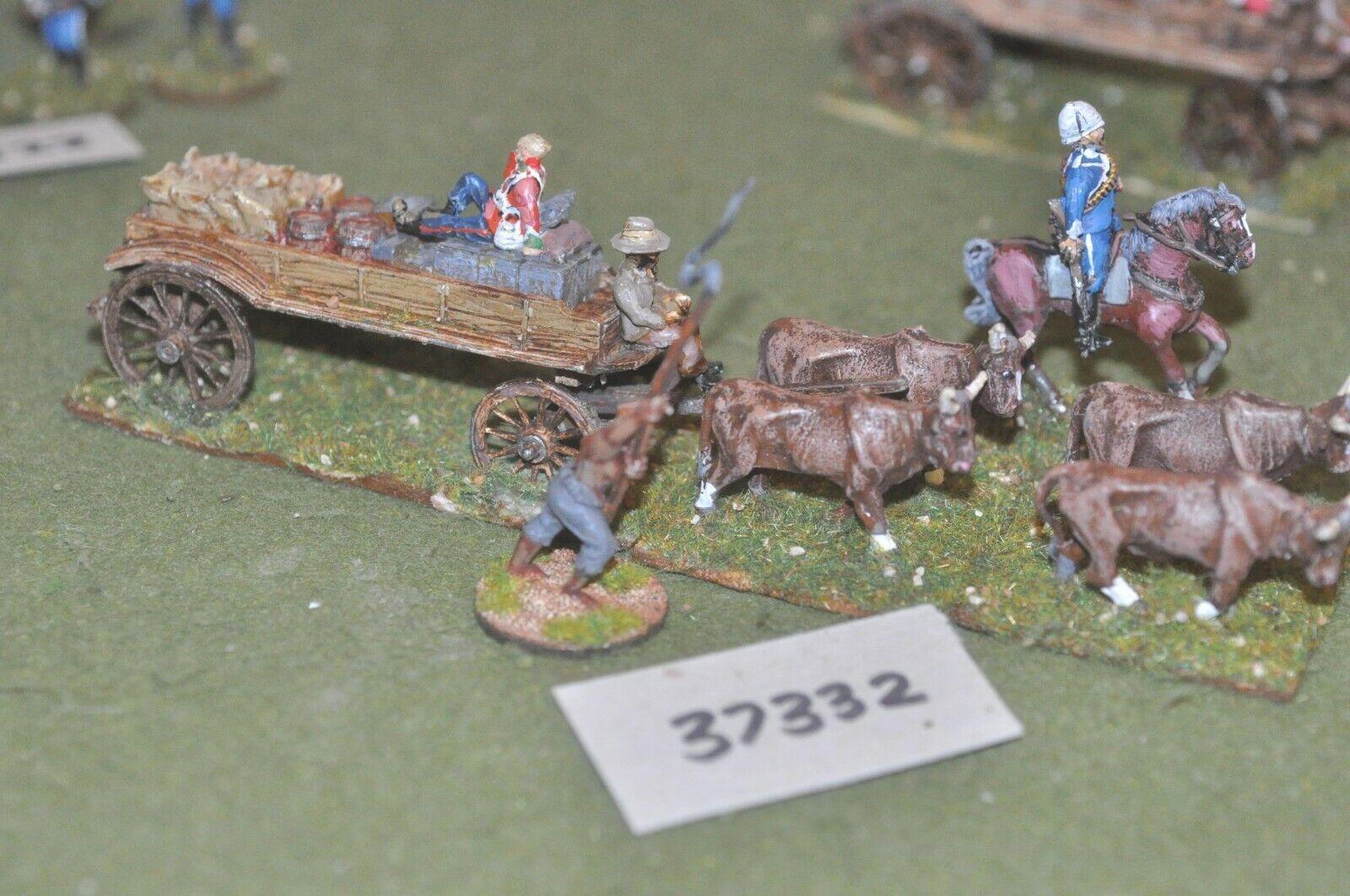25mm guerras coloniales británico Zulu Wagon (como Foto) de plástico-equipajes (37332)