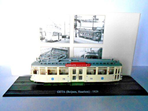 1929 - Atlas scale 1//87 Tram GETA 7519027 Beijnes,Haarlem 2519017