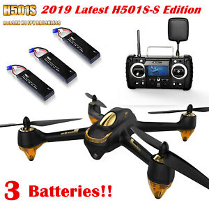 Hubsan H501S S Pro Brushless Drone 5.8G FPV RC Quadcopter...