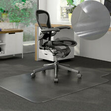 "New PVC 48""x36"" Chair Office Home Desk Floor Mat for Tile Wood 1.50mm With Lip"