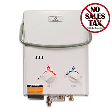 Camping Water Heaters Tankless Hot Propane Gas Instant Shower Portable Outdoor
