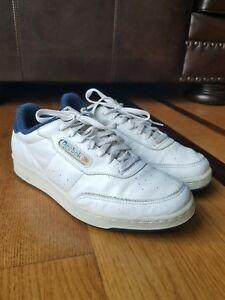 Vintage Reebok Herren Classic weiss Leder Sneaker Schuh