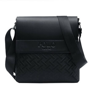 e271c10b53 Image is loading High-Quality-Leather-Men-Messenger-Bags-Crossbody-Bags-