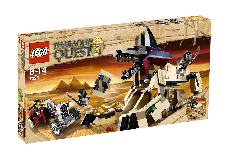 Nuovo di  zecca con scatola originale  lunga in pensione LEGO FARAONI Quest 7326 fabbrica sigillati & strizzacervelli avvolto   produttori fornitura diretta