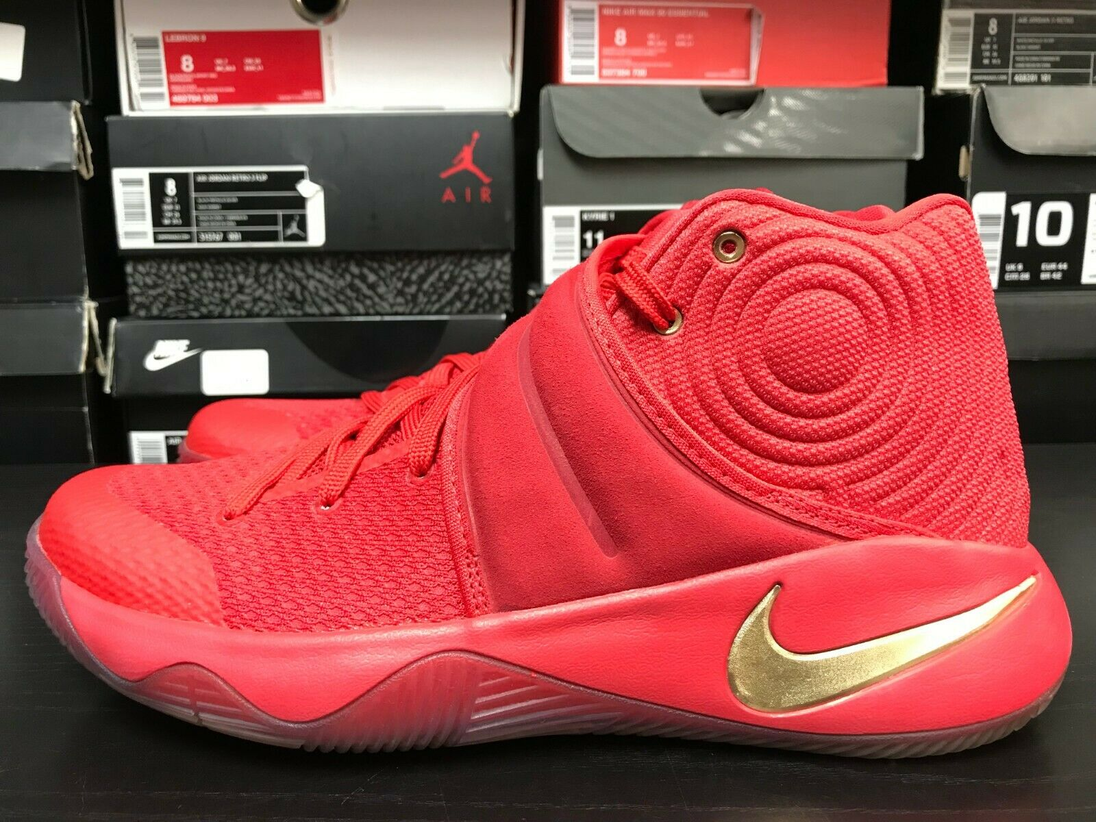 a4329cfd7f Nike Kyrie 2 LMTD gold Medal Size 9 Red gold USA. Nike Air Max Kantara  908982-001 Black White Silver Men's Running shoes NEW