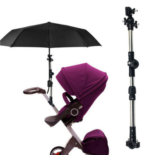Mount Stand Baby Stroller Umbrella Holder Adjustable Baby Cart Parasol Shelf Hot