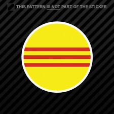 Sticker Car Motorbike Card Country Vietnam South North Vinyl