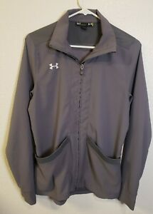 Under Armour Women's Pre-Game Woven Jacket Size S Gray NWOT # 1258832