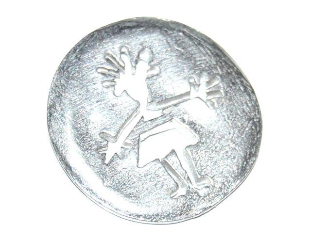 1 BOUTON original du créateur BICHE DE BERE métal