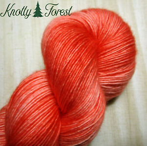 Hand Dyed Yarn PENDLE BLANKET Feather Single Ply Sock SW Merino Wool 400y Multi