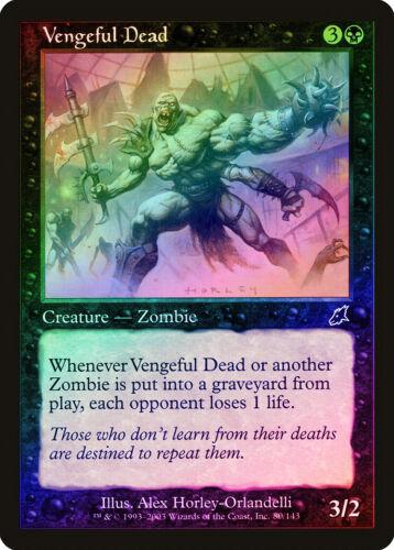 Vengeful Dead FOIL Scourge NM-M Black Common MAGIC THE GATHERING CARD ABUGames