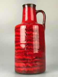 60er-70er-Jahre-Vase-Tischvase-Blumenvase-Keramik-Ceramic-Space-Age-Design-60s