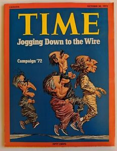 Time-Magazine-October-30-1972-Canada-Edition-Federal-Election-1972-Trudeau