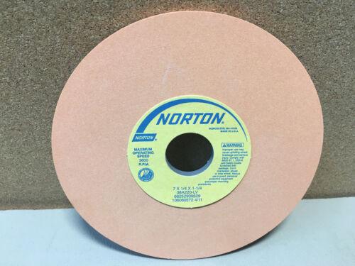 "1 New NORTON 66252939529 7/"" x 1//4/"" x 1-1//4/"" Grinding Wheel 38A220-LV Orange"