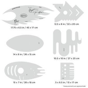 Set-6-Plantillas-Aerografo-Airbrush-Artool-Metropolis-By-Y-Mecialis-FHMET1
