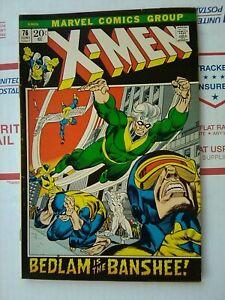 X-MEN-76-MARVEL-COMIC-1972-NICE-XMEN-X-MEN-76