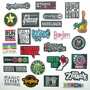 MODERN-ROCK-BAND-PATCHES-Any-Patch-Only-1-20-UK-SELLER-NEW