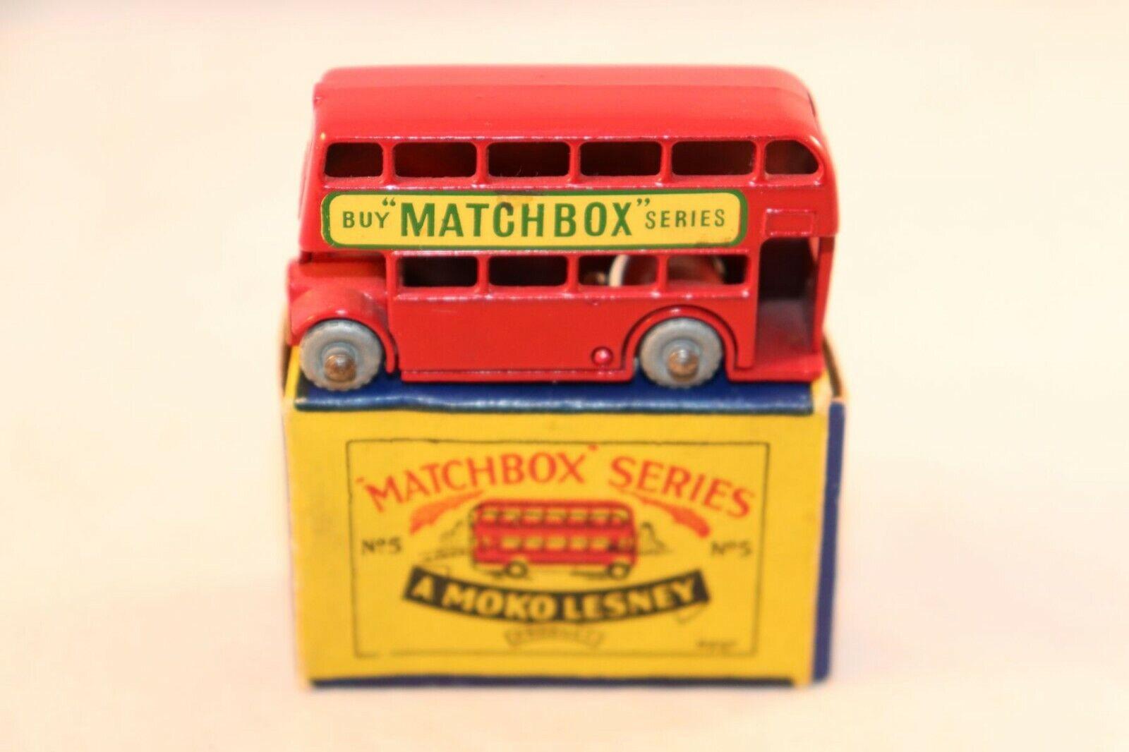 Matchbox Lesney No 5 London bus Buy Matchbox series mint in box GMW all original
