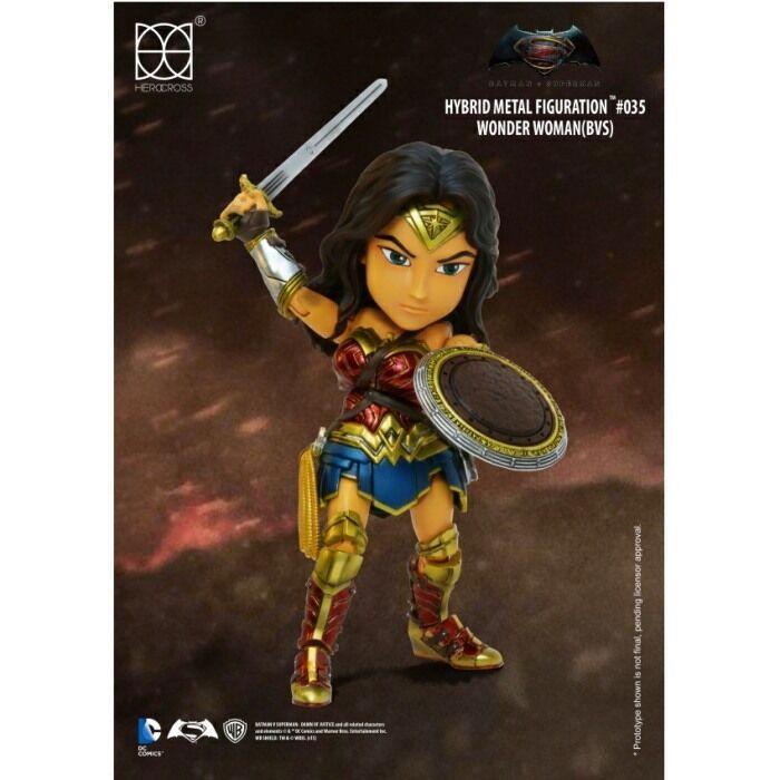 Herocross - Hybrid Metal Figuration  034 (BvS) - WONDEN Damenschuhe - DC Action Figure