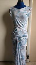 Rare YFB Young Fabulous and Broke S NEW Bryton Maxi Dress $211 Teal Dye Sold out