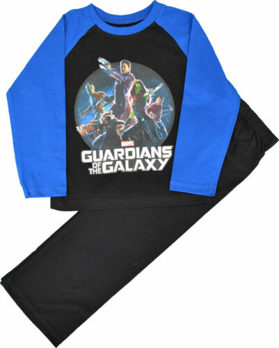 NEW BOYS OFFICIAL GUARDIANS OF THE GALAXY PYJAMAS AGES 3-4 up to 9-10 years