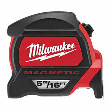 Milwaukee 48227216 5m/16ft Tape Measure Dual Magnetic Hook & Architect New