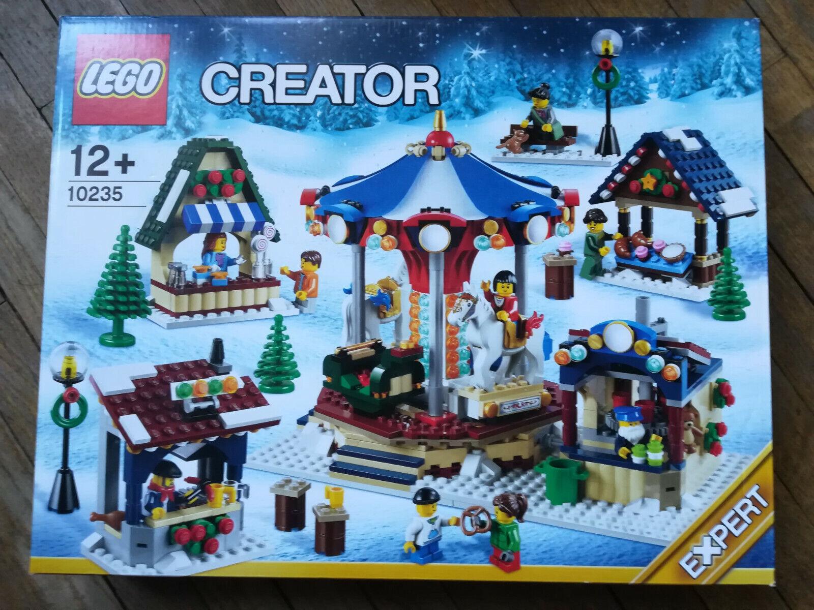 Lego 10235 le marché de noel winter village market neuf