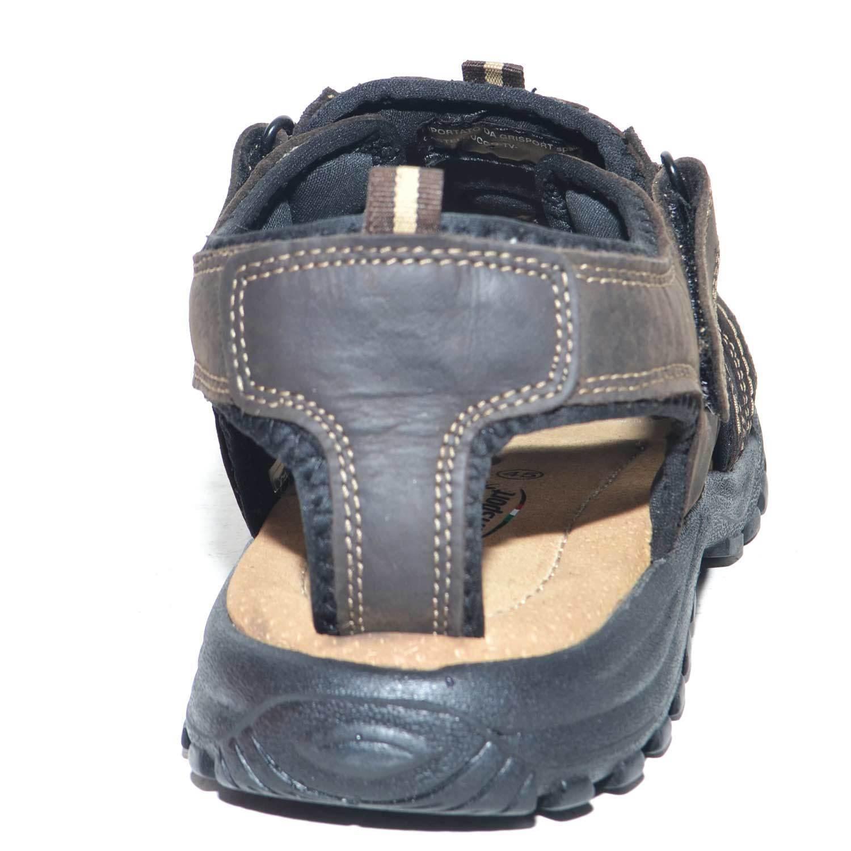 sandalo uomo scarpe uomo grisport estivo marrone 81561 V Uomo 1 COCA Uomo V  man Made 25e668