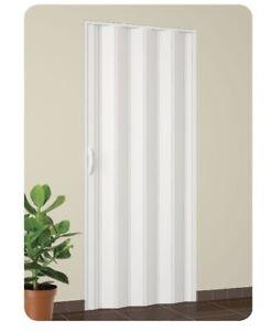 Porta porte a soffietto in pvc vari colori su misura for Prezzo finestre pvc al mq
