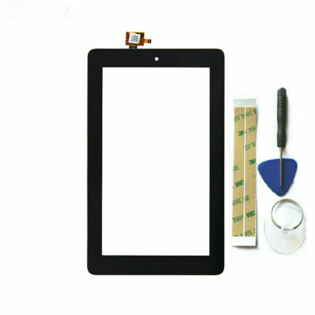 """+Frame For Amazon Kindle Fire 7/"""" 5th Gen SV98LN Digitizer Touch Screen LCD CN"""