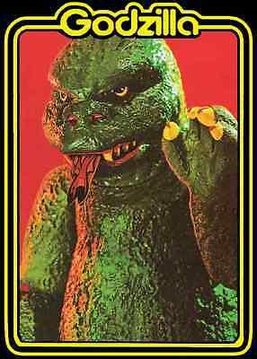 80/'s Japanese Classic Godzilla 1985 Poster Art custom tee Any Size Any Color