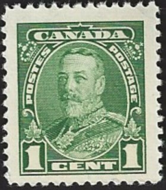 Canada   # 217     KING GEORGE V     New Issue 1935 Pristine Gum