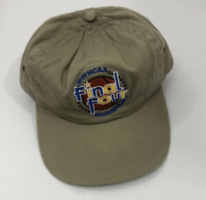 Vintage-NCAA-1997-Final-Four-Indianapolis-Baseball-Hat-Cap-Logo-7-EUC