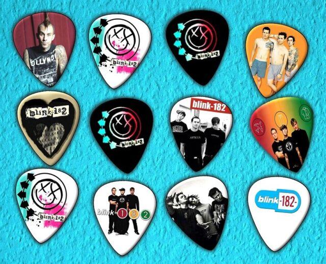 Blink 182 Guitar Picks *Limited Edition* Set of 12