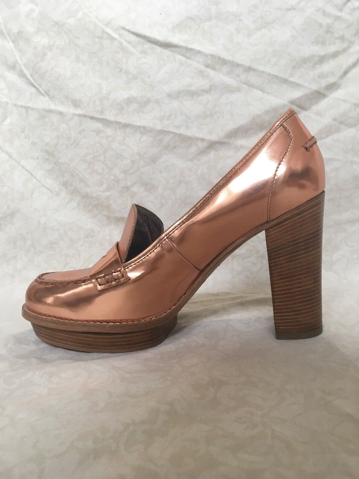 Marc By Marc Jacobs, Bronze Heeled Mules, Pelle, Donna's Shoes, Size Size Shoes, 10M 595211
