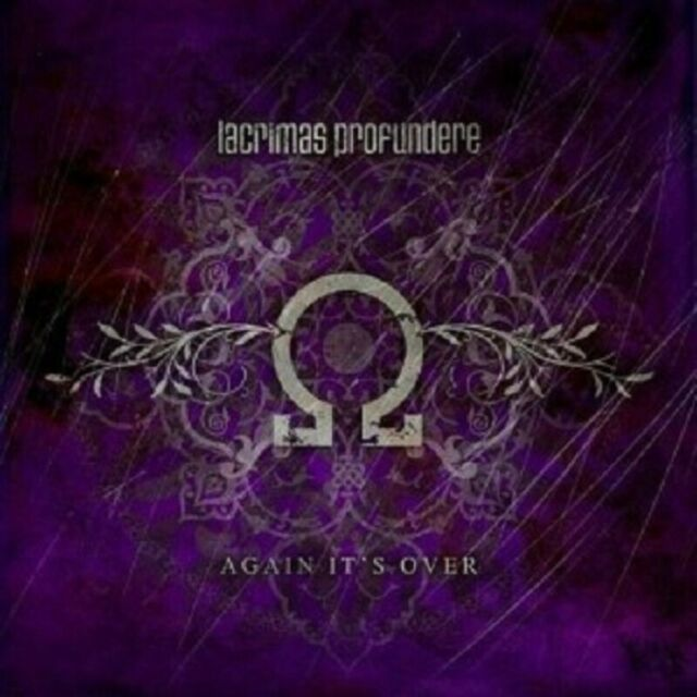 "LACRIMAS PROFUNDERE ""AGAIN IT´S OVER"" CD SINGLE NEUWARE"