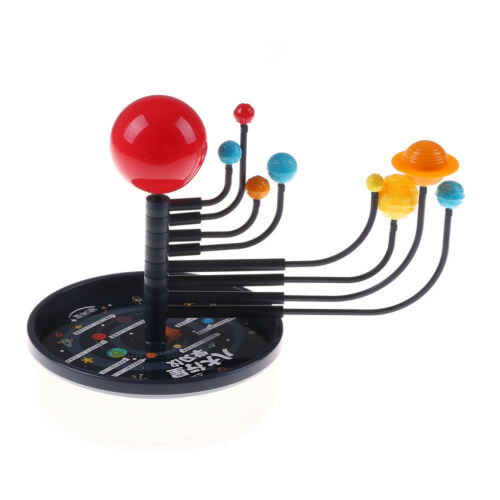 Kid/'s Educational Toy Explore Nine Planets in Solar System Teaching Toys Gift TO