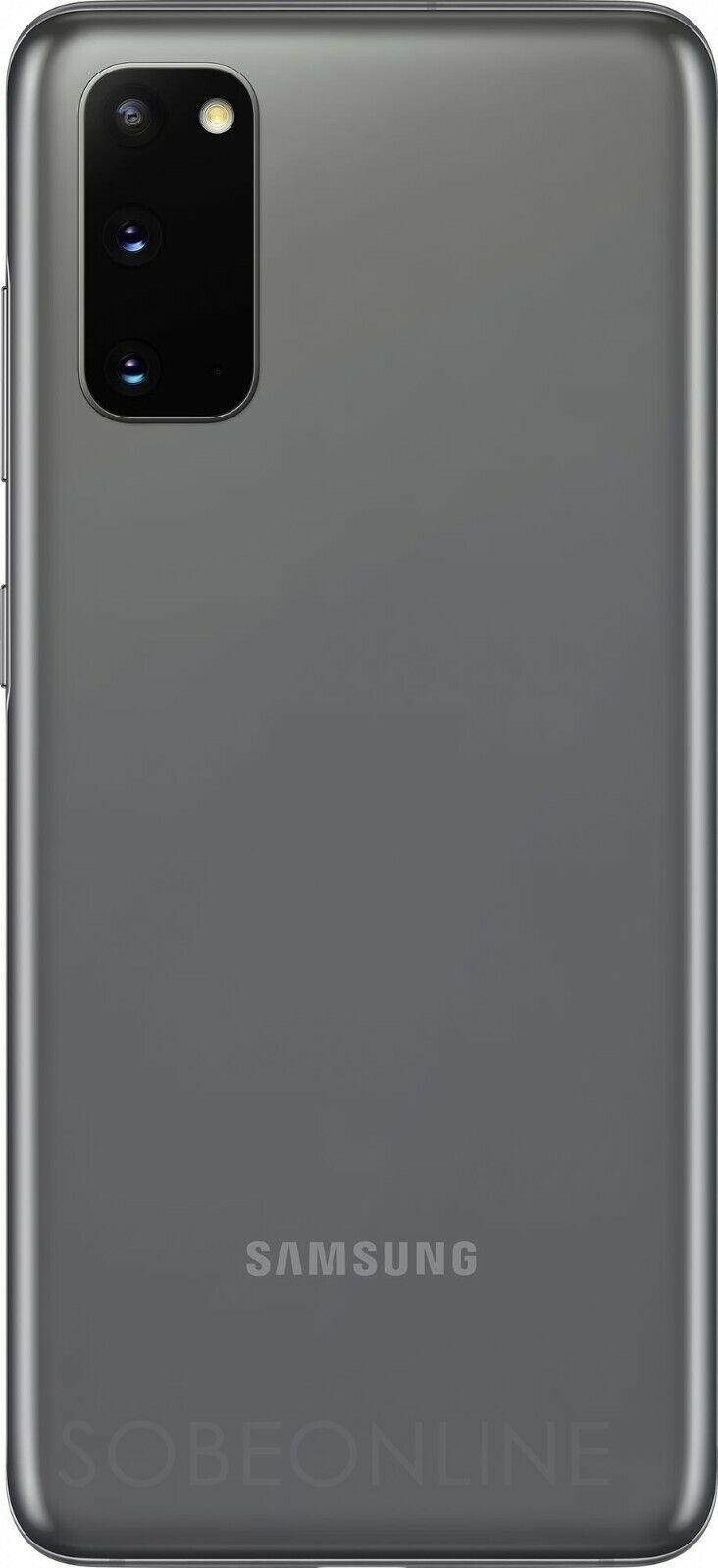 Samsung Galaxy S20 128GB 8GB SM-G980F/DS Dual Sim (FACTORY UNLOCKED) 6.2