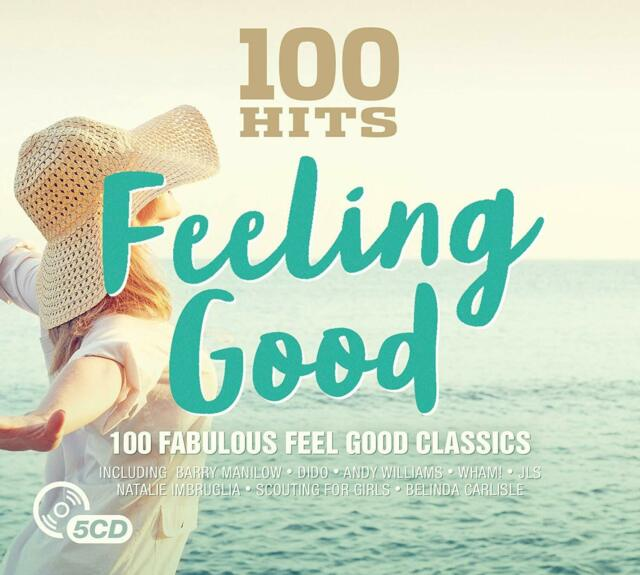 Various - 100 Hits: Feeling Good (2017)  5CD  NEW/SEALED  SPEEDYPOST