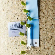 Design Ideas Set Of 8 Tiny Tools Green Push Pin Pushpins Memo Holder 3206009