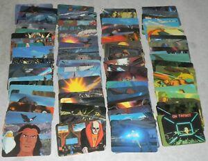 Lot-90x-Series-1-1986-GI-Joe-Cobra-Dreadnok-Figure-Action-Trading-Cards-Set-Pack