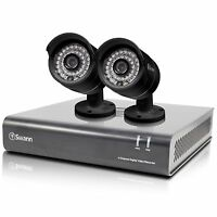 Swann Swdvk-444002-us 4 Channel 720p Dvr & 2 X Pro-a850 Cameras