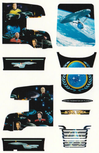"Decal para scania r09 Topline szm /""Star Trek/"" 1//87 construiste"