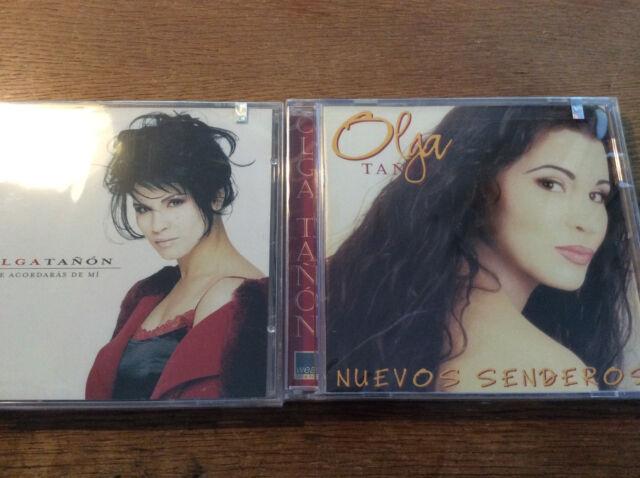 Olga Tañón [2 CD Alben] Te Acordaras de Mi + Nuevos Senderos/NEU OVP Puerto Rico