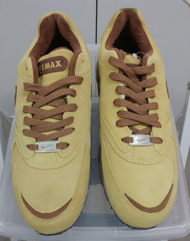 DS NIKE AIR MAX BURST GOLD DUST CNDR BROWN nike 305608 721 US 9.5 eminem shady