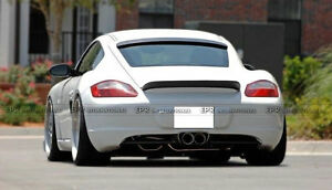 New ducktail rear spoiler trunk wing for porsche 2006 2012 cayman ep image is loading new ducktail rear spoiler trunk wing for porsche publicscrutiny Gallery